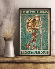 Girl hiking lost your my find your soul 24x36 Poster lifestyle-poster-3
