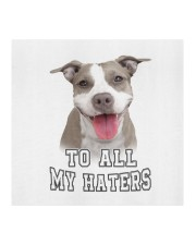 Pitbull To all My Haters Cloth face mask aos-face-mask-coverlet-lifestyle-front-02