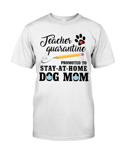 Teacher Quarantine Promoted To Stay At Home DogMom