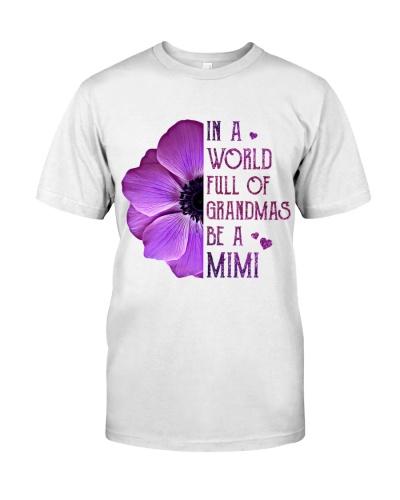 Be Unique-Be a MiMi T-shirt