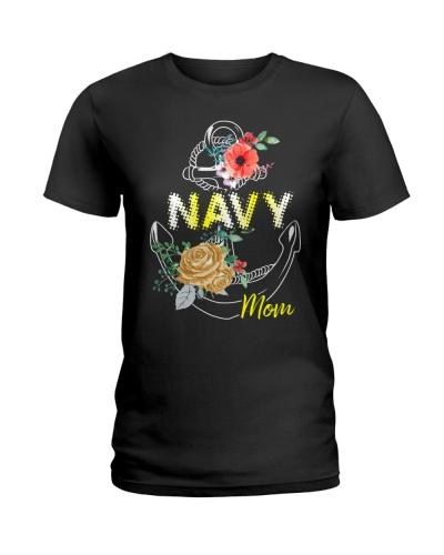 navy mom flower