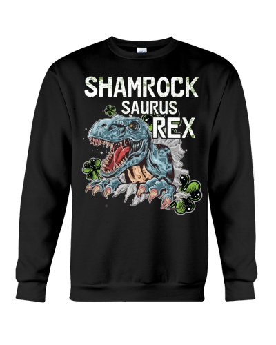 Funny Shamrock Dinosaurs
