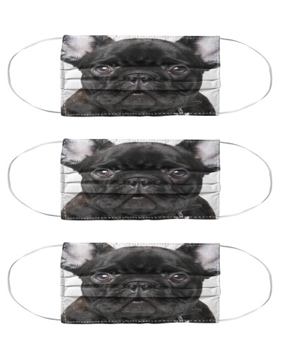 French Bulldog Mask Pack 3 Pack 5 Pack 10