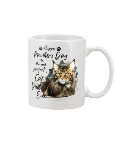 Happy Pawther's Day Maine Coon