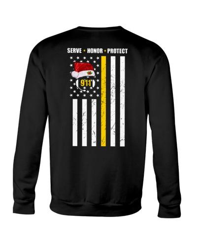 911 dispatcher flag xmas