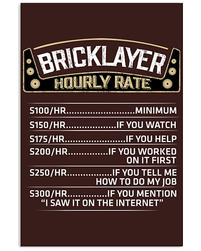 bricklayer hourly rate