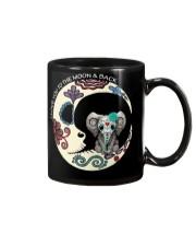 moon and elephant Mug front