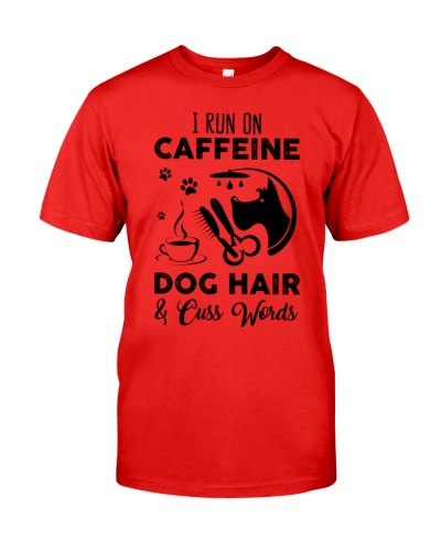 Groomer i run on caffein dog hair