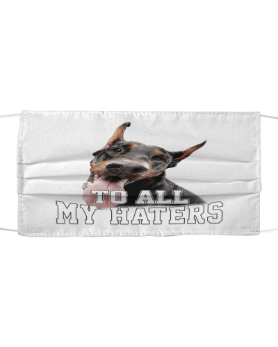doberman to all my haters