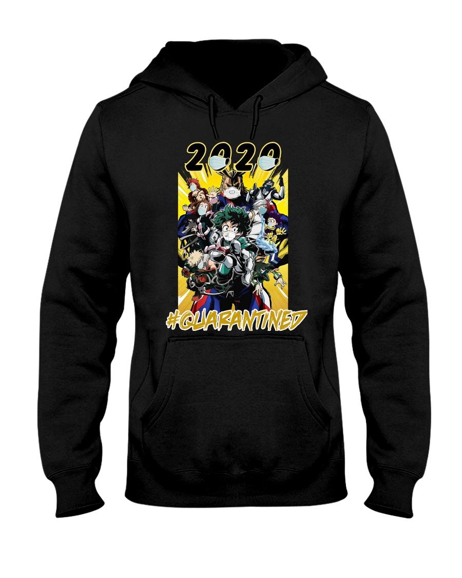 Hero 2020 QUARANTINED Hooded Sweatshirt