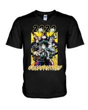 Hero 2020 QUARANTINED V-Neck T-Shirt thumbnail