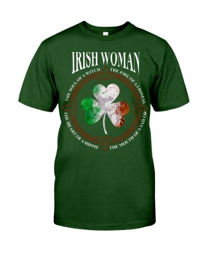 Irish Woman Funny T-shirt