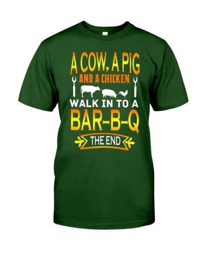 farmer a cow a pig