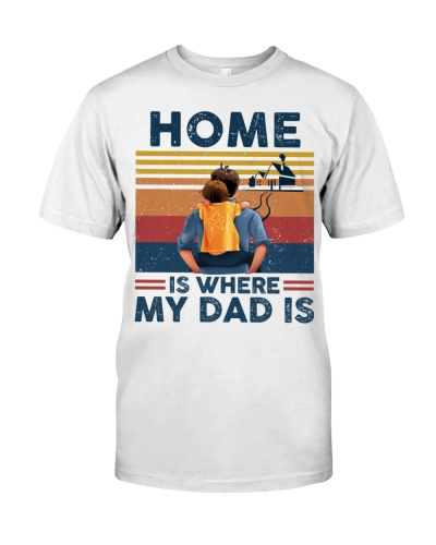 Home is where dad
