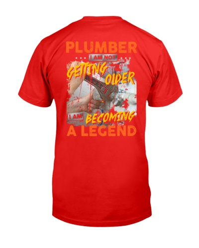 Plumber i am not getting older becoming