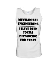 Mechanical Engineering I Have Been Social  Unisex Tank thumbnail