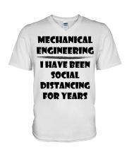 Mechanical Engineering I Have Been Social  V-Neck T-Shirt thumbnail