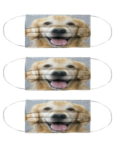 golden retriever Mask Pack 3 Pack 5 Pack 10