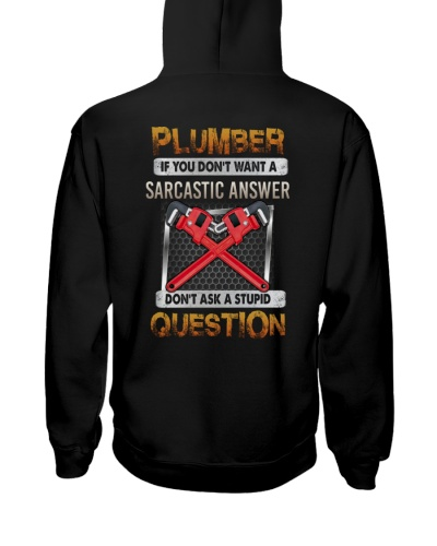 plumber if you do not want a