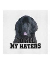newfoundland to all my haters Cloth face mask aos-face-mask-coverlet-lifestyle-front-02