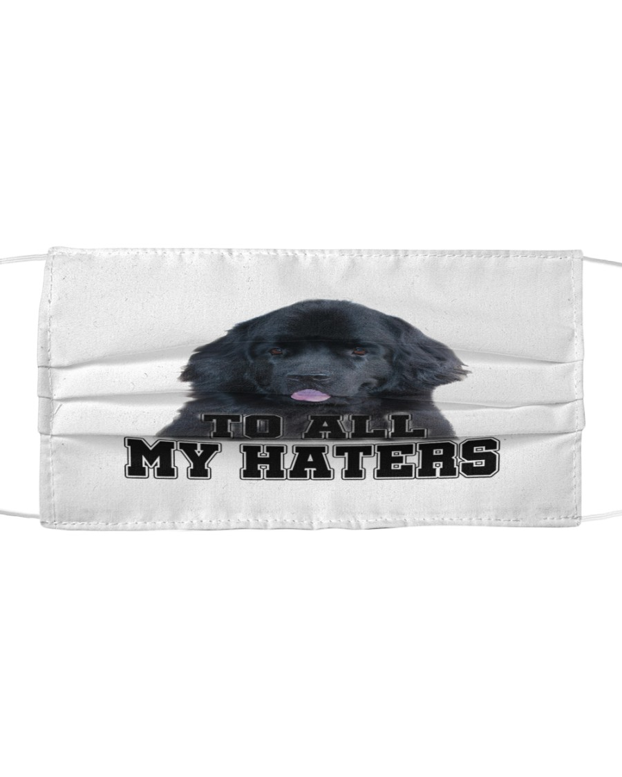 newfoundland to all my haters Cloth face mask