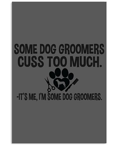 Groomer some cuss to much it's me