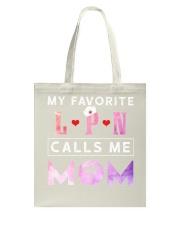My Favorite Registered Nurse Calls Me Mom Tote Bag thumbnail