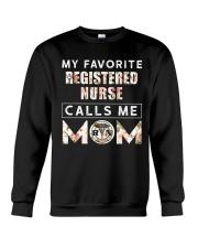 My Favorite Registered Nurse Calls Me Mom Crewneck Sweatshirt thumbnail