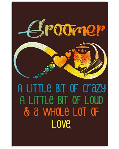 Groomer a little bit of crazy a little bit of lo