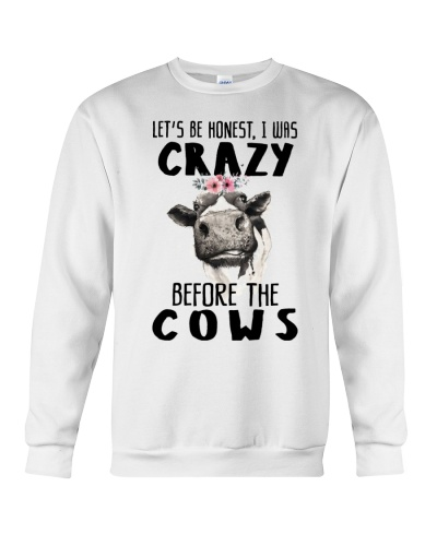 Crazy B4 The Cows Funny Tee For You