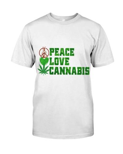 Peace Love Funny Tee