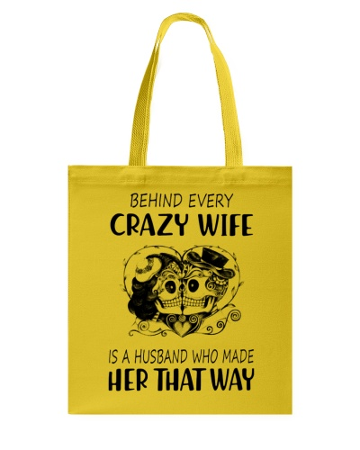 Behind Every Crazy Wife is a Husband who made her