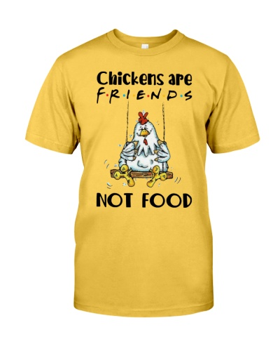 Chickens are friends T-shirt