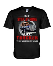i can't stay at home V-Neck T-Shirt thumbnail