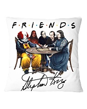 Limited edition Square Pillowcase back