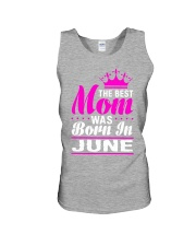 THE BEST MOM WAS BORN IN  JUNE Unisex Tank thumbnail