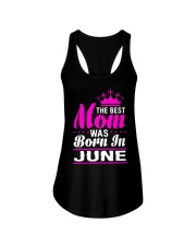 THE BEST MOM WAS BORN IN  JUNE Ladies Flowy Tank thumbnail