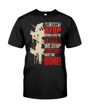 Lineman done Classic T-Shirt front