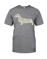 Life is better with dachshunds around Classic T-Shirt thumbnail