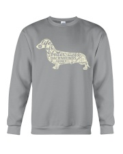 Life is better with dachshunds around Crewneck Sweatshirt thumbnail