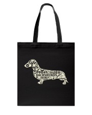 Life is better with dachshunds around Tote Bag thumbnail