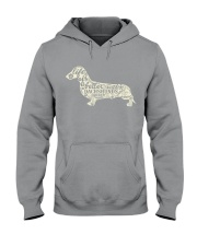 Life is better with dachshunds around Hooded Sweatshirt thumbnail