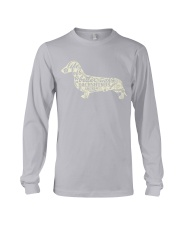 Life is better with dachshunds around Long Sleeve Tee thumbnail