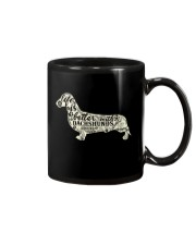 Life is better with dachshunds around Mug thumbnail