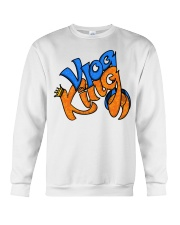 Vlog king  Crewneck Sweatshirt thumbnail