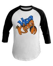 Vlog king  Baseball Tee thumbnail