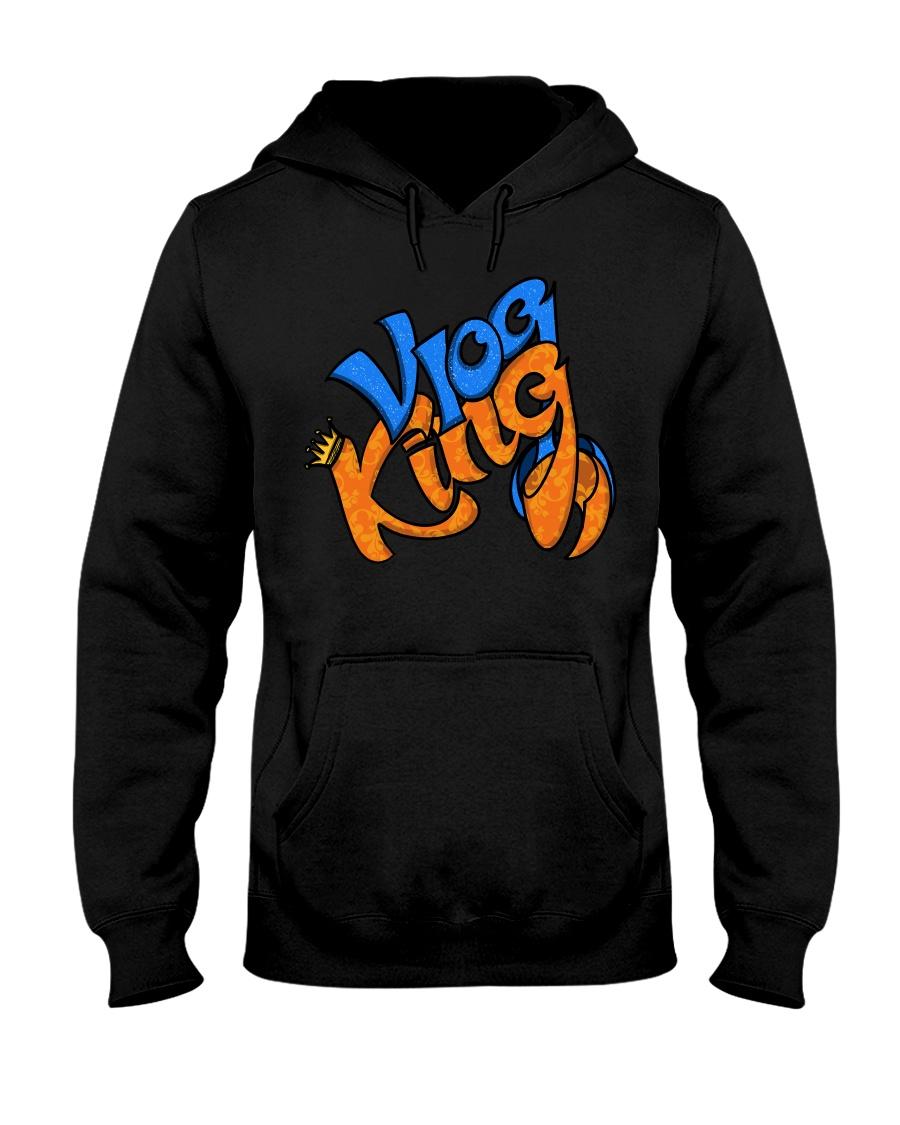 Vlog king  Hooded Sweatshirt