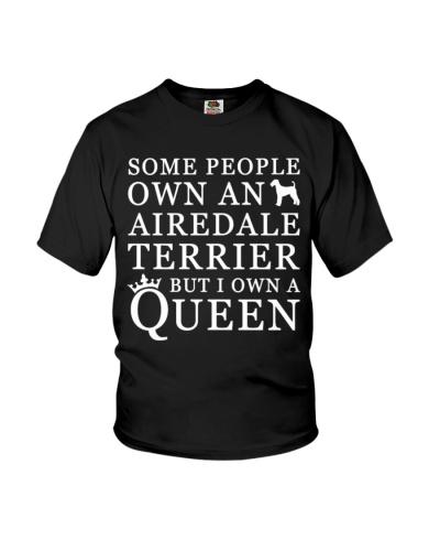 airedale terrier queen shirt