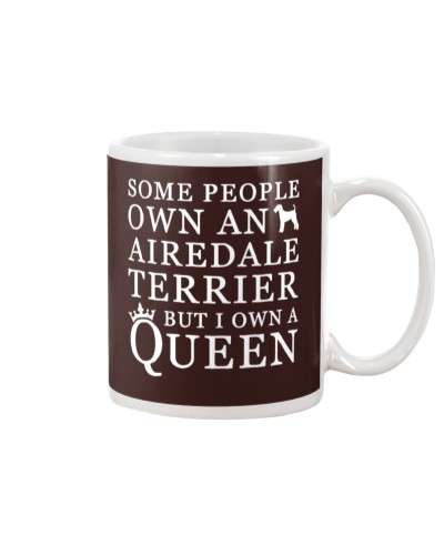airedale terrier queen shirt