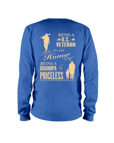 LIMITED EDITION - BEING A US VETERAN - GRANDPA